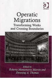 Cover of: Operatic Migrations |