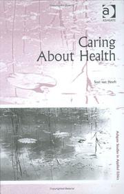 Cover of: Caring about health