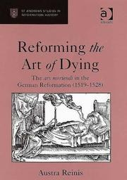 Cover of: Reforming the Art of Dying | Austra Reinis
