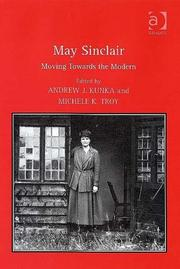 Cover of: May Sinclair |