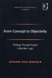 Cover of: From concept to objectivity