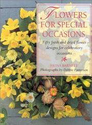 Cover of: Flowers for Special Occasions
