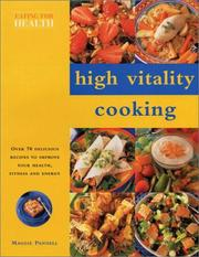 Cover of: High Vitality Cooking: Eating for Health Series