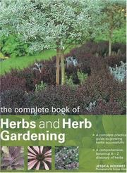 Cover of: The Complete Book of Herbs and Herb Gardening