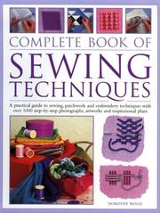 Cover of: Complete Book of Sewing Techniques