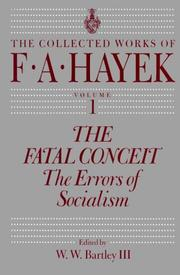 Cover of: The collected works of F.A. Hayek: essays, documents, reviews