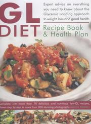 Cover of: The GL Diet Recipe Book & Health Plan | Maggie Pannell