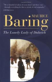 Cover of: The Lonely Lady of Dulwich | Maurice Baring