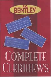 Cover of: The Complete Clerihews