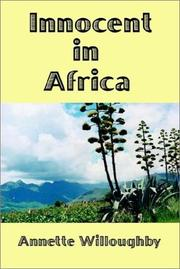 Cover of: Innocent In Africa | Annette Willoughby