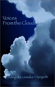 Cover of: Voices From The Clouds | Adegoke Unimke Oyegade