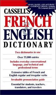 Cover of: Cassell's French and English dictionary | J. H. Douglas