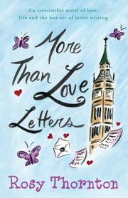 Cover of: More Than Love Letters | Rosy Thornton