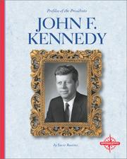 Cover of: John F. Kennedy | Lucia Raatma