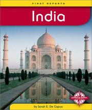 Cover of: India (First Reports) |