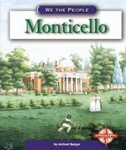 Cover of: Monticello