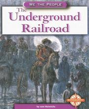 Cover of: The Underground Railroad (We the People: Civil War Era)