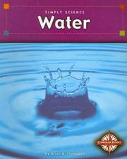 Cover of: Water (Simply Science)