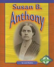 Cover of: Susan B. Anthony (Compass Point Early Biographies)