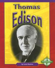 Cover of: Thomas Edison (Compass Point Early Biographies)