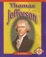 Cover of: Thomas Jefferson (Compass Point Early Biographies)