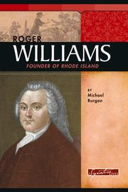 Cover of: Roger Williams: founder of Rhode Island