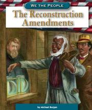 Cover of: The Reconstruction Amendments