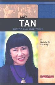 Cover of: Amy Tan: Author and Storyteller (Signature Lives: Modern America)