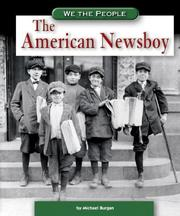 Cover of: The American Newsboy (We the People) (We the People)