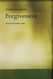 Cover of: Forgiveness | Vladimir JankГ©lГ©vitch