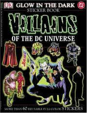 Cover of: DC Comics Glow-in-the-dark Sticker Book | DK Publishing