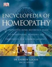 Cover of: Encyclopedia of Homeopathy | DK Publishing