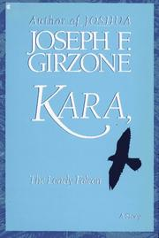 Cover of: Kara, the lonely falcon