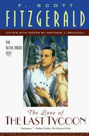 Cover of: The love of the last tycoon | F. Scott Fitzgerald