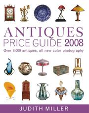 Cover of: Antiques Price Guide 2008 (Antiques Price Guide) | DK Publishing