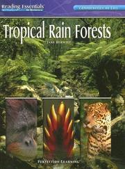 Cover of: Tropical Rain Forests | Jane Hurwitz
