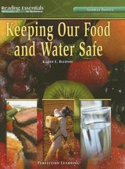 Cover of: Keeping Our Food And Water Safe