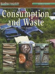 Cover of: Consumption And Waste