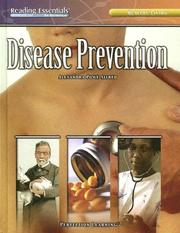 Cover of: Disease Prevention