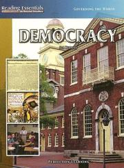 Cover of: Democracy |