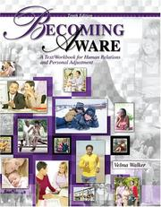 Cover of: Becoming Aware by Velma Walker