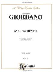 Cover of: Andrea Chenier