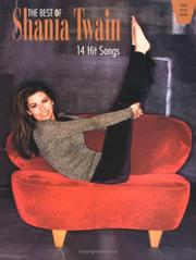 Cover of: The Best of Shania Twain