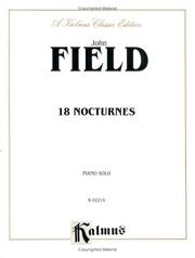Cover of: John Field: 18 Nocturnes