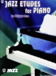 Cover of: Jazz Etudes For Piano | Michael Orta