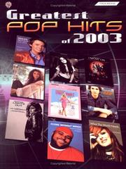 Cover of: Greatest Pop Hits of 2003