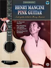 Cover of: Henry Mancini - Pink Guitar Book & CD (Acoustic Masterclass)
