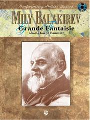 Cover of: Mily Balakirev Grande Fantaisie (Book & CD) (Performing Artist) |
