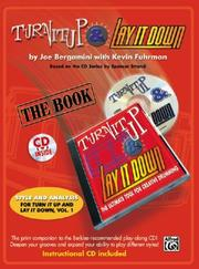 Cover of: Turn It Up & Lay It Down (Book & CD) | Joe Bergamini
