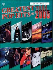 Cover of: Greatest Pop Hits of 2004-2005